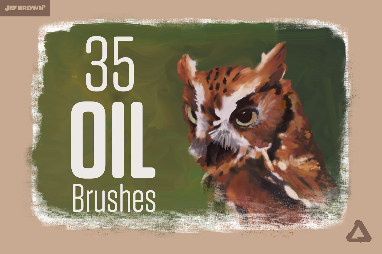 Oil Painting Brushes for Affinity Photo & Designer