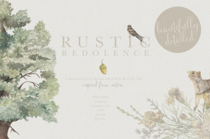 Rustic Redolence - Graphic Set