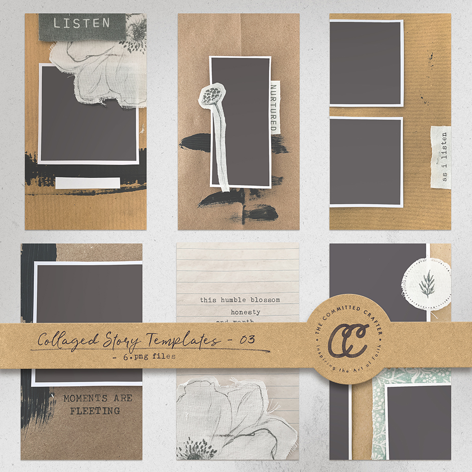 Story Collage Templates 03