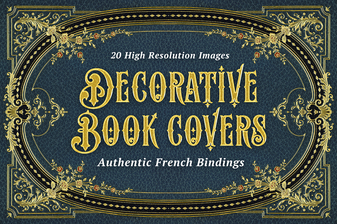 20 Decorative Book Covers