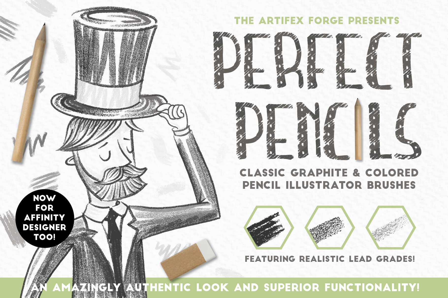 illustrator pencil brushes