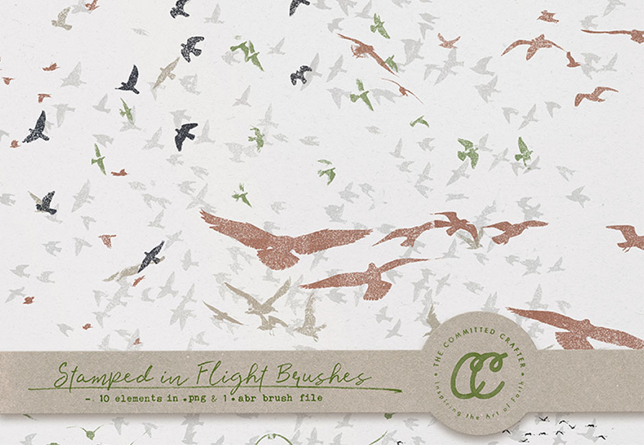 Stamped In Flight Brushes