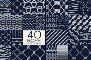 40 Rope Patterns - Big Set