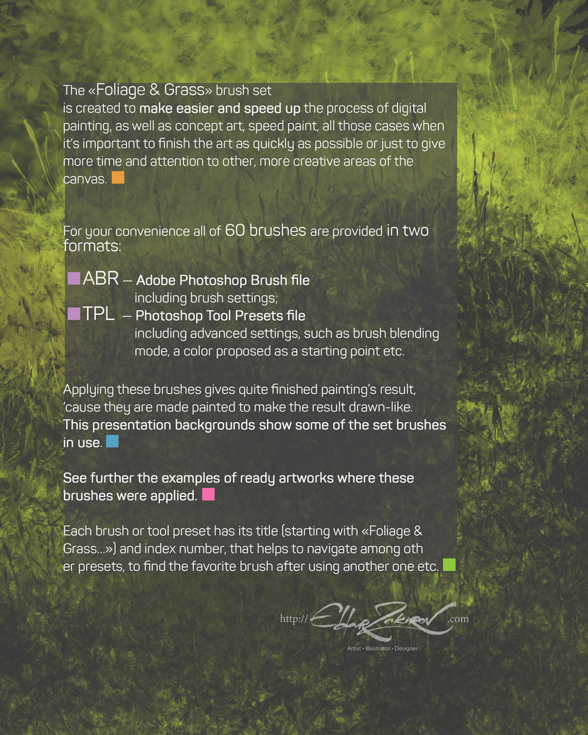 Foliage And Grass Brushes - Design Cuts