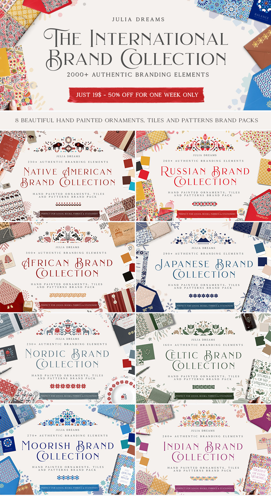 The international brand collection design cuts for International decor brands