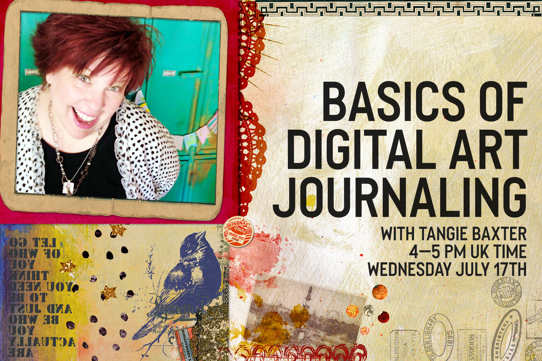 Scrapbooking Webinar with Tangie Baxter