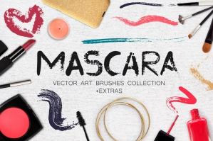 Mascara - Vector Art Brushes