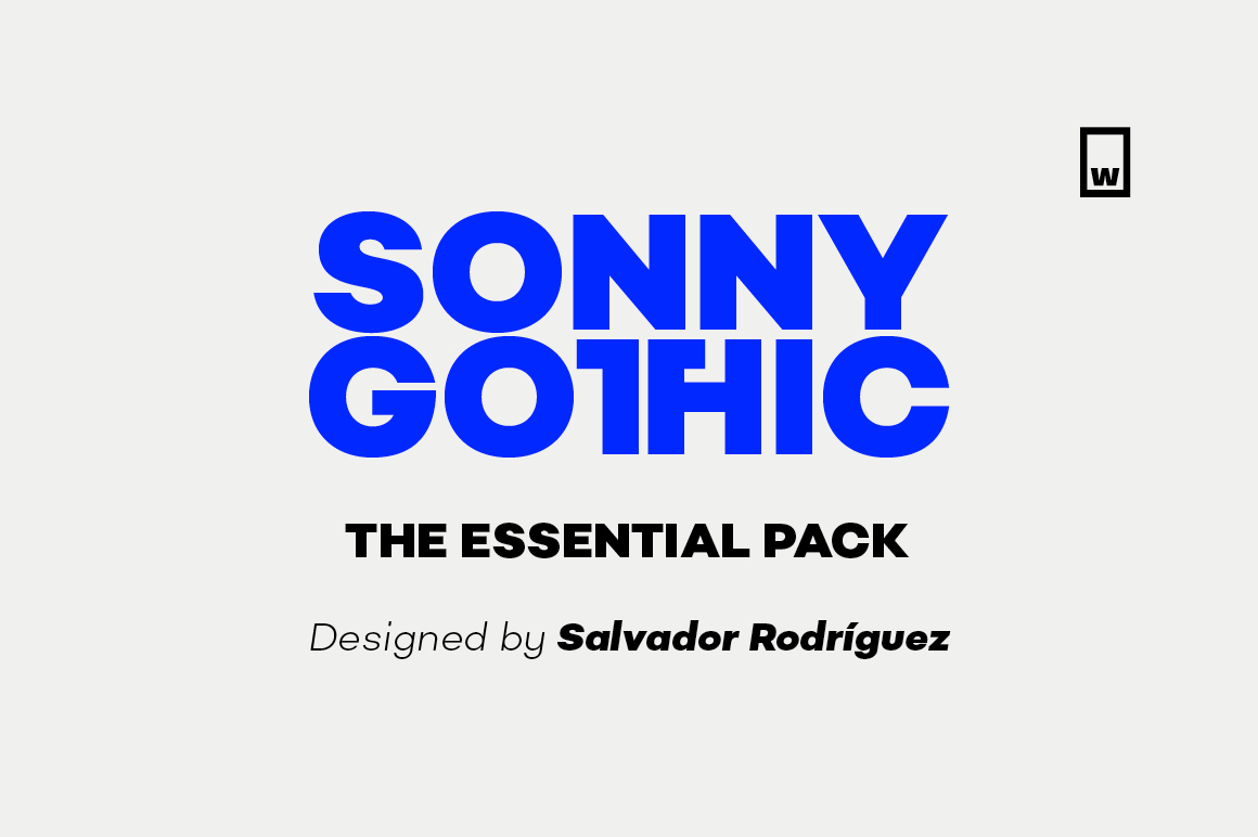 Sonny Gothic Essential