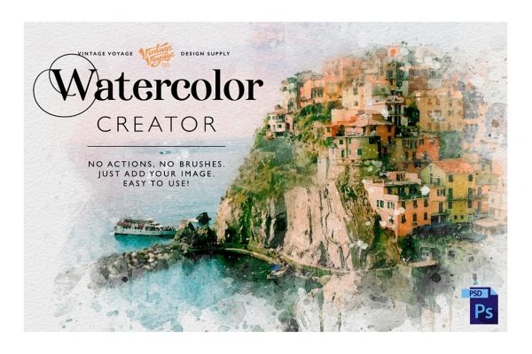 Watercolor Creator