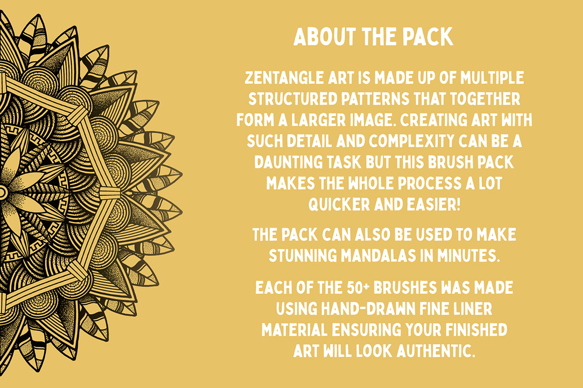 Zentangle Art & Mandala Creator