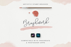 Brushwork for Procreate & Photoshop