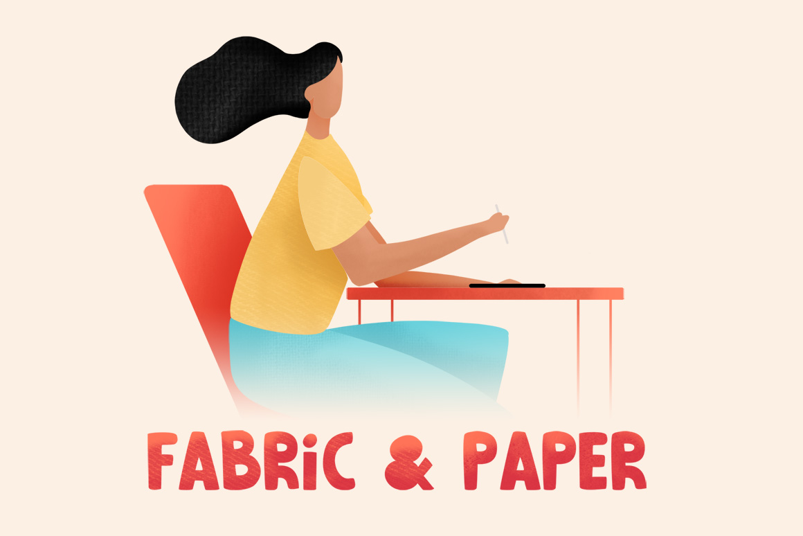 Fabric And Paper Procreate Brushes