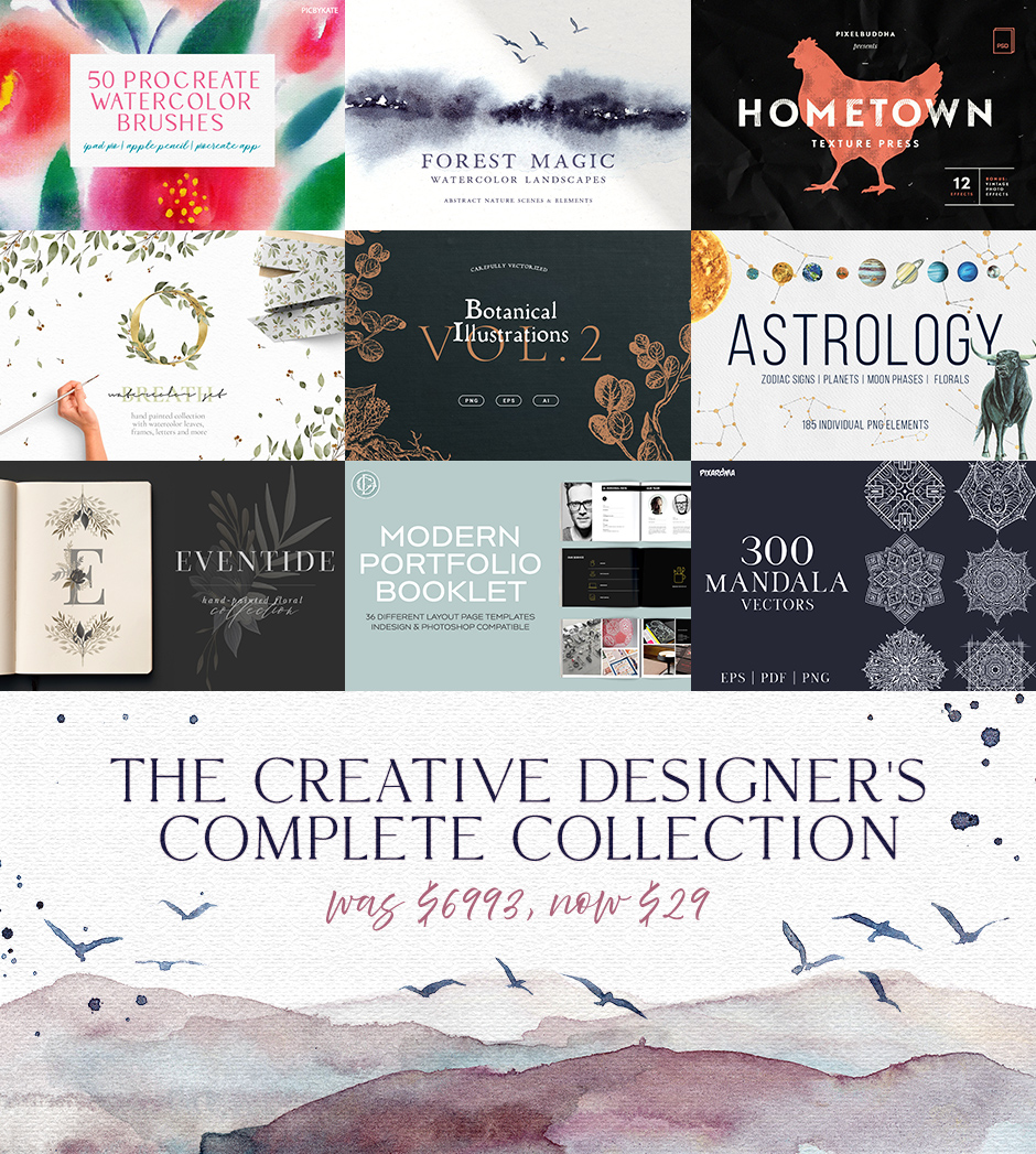 The Creative Designer's Complete Collection