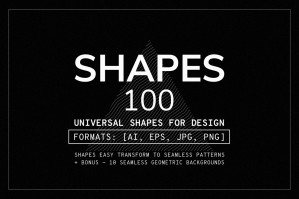 100 Geometric Shapes - Part 1