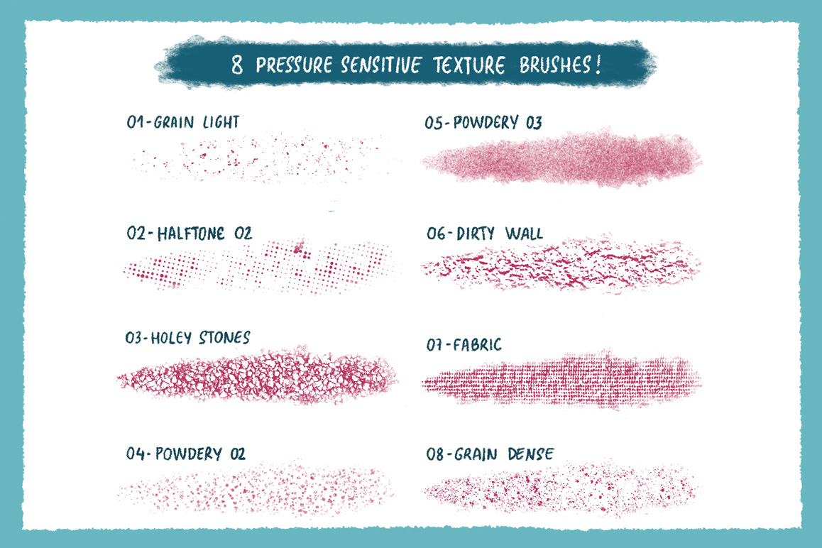 On The Road – Procreate Brush Set