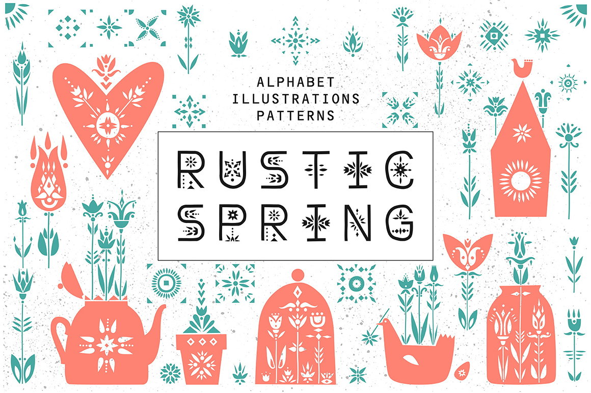 Rustic Spring - Graphic Collection