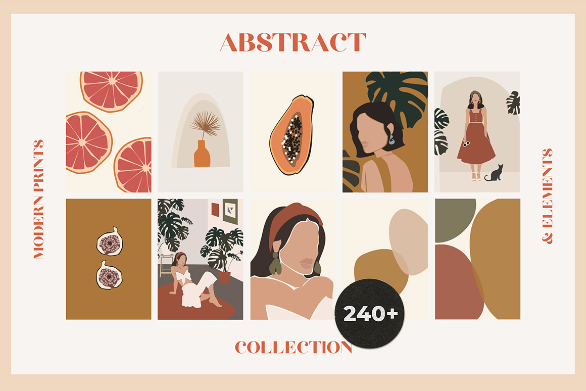 Abstract Modern Prints