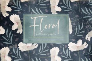 Floral Patterned Papers