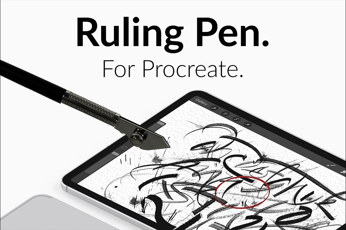 Ruling Pen For Procreate