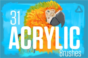 Acrylic Brushes For Affinity