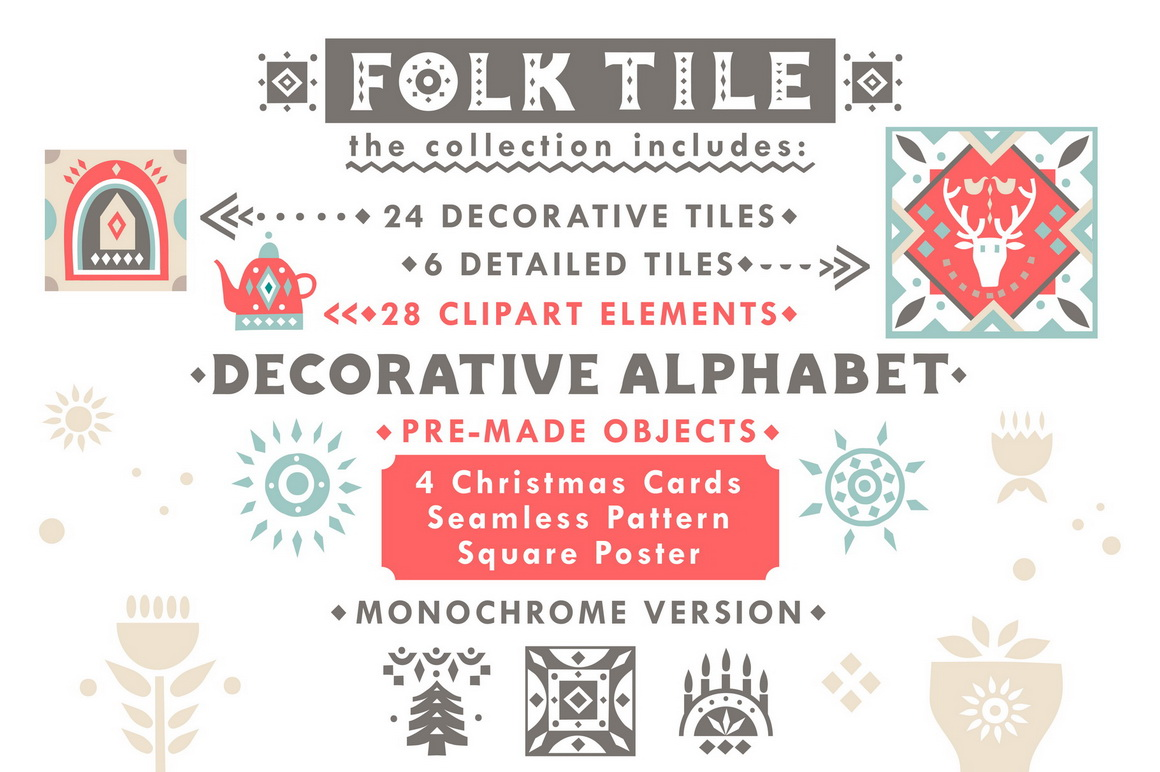 Folk Tile - Graphic Collection