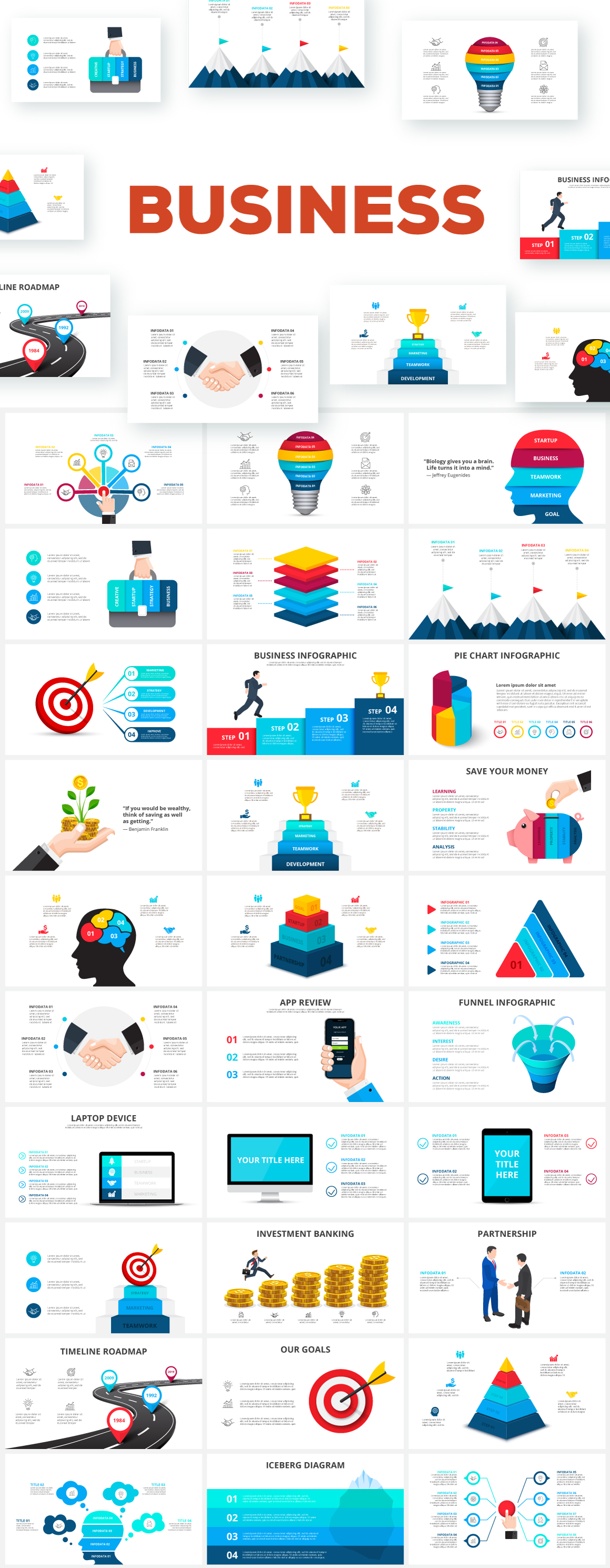 Infographics Templates Presentations
