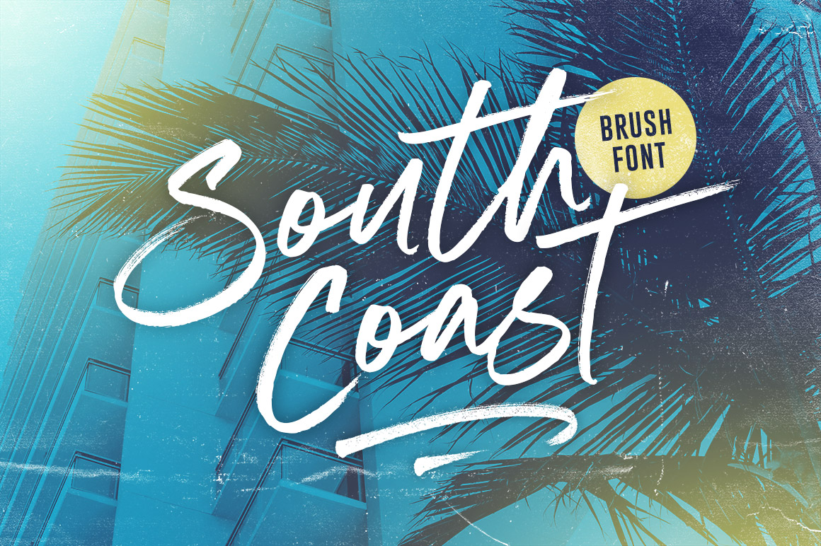 South Coast Brush Font