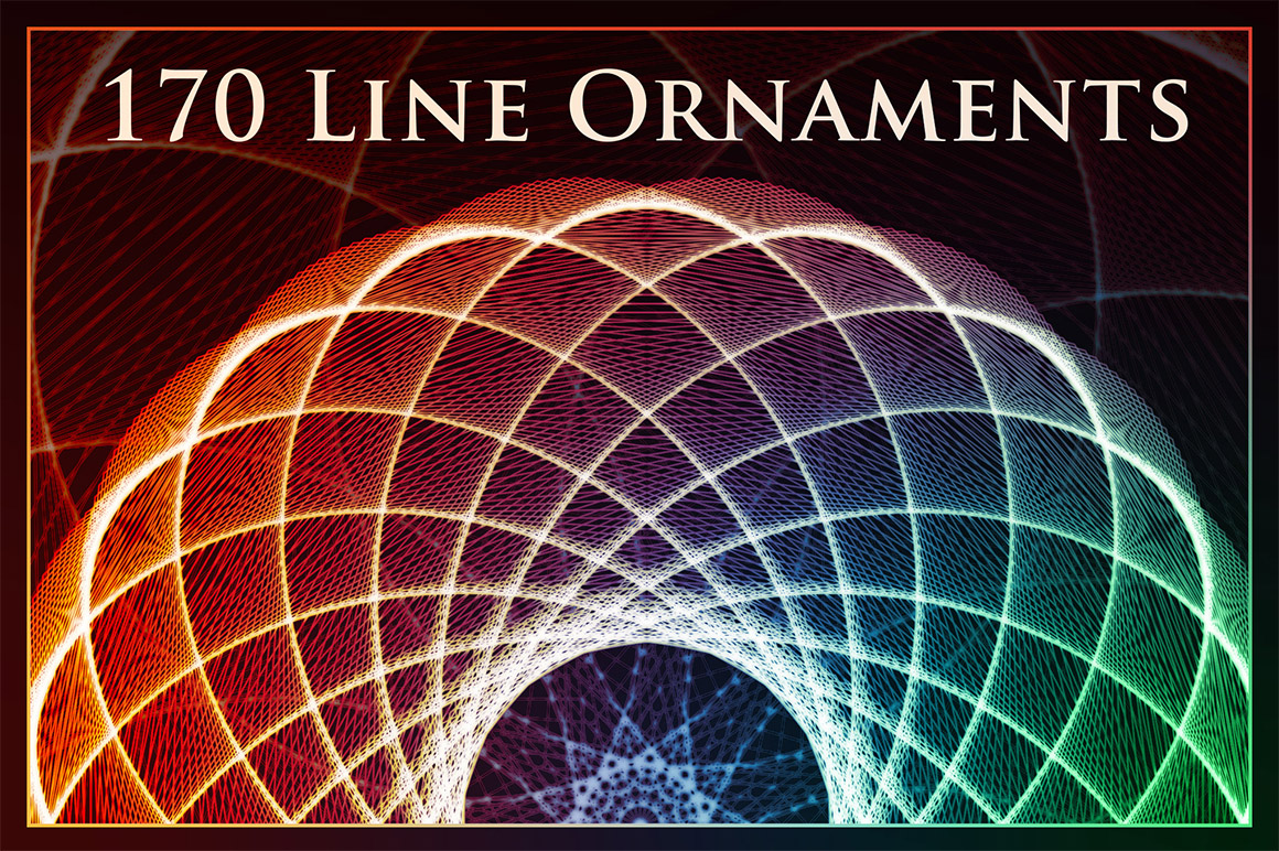 170 Line Ornaments