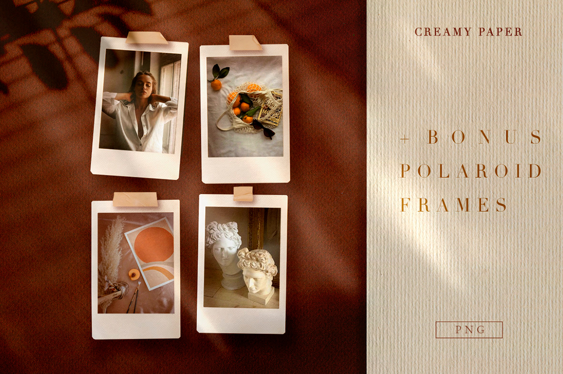 Creamy Paper Collection