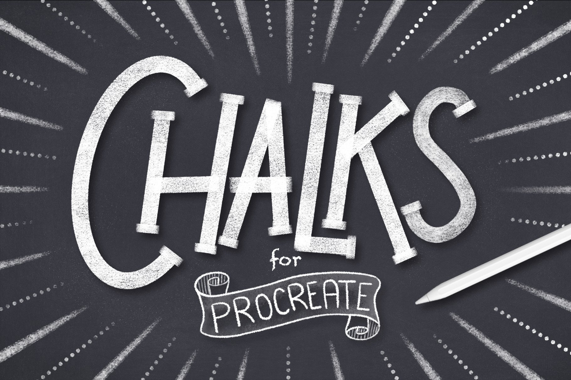 Procreate Chalk Brushes