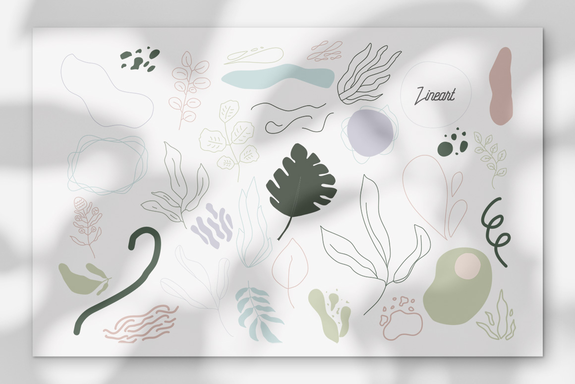 Lineart Abstract Vector Illustrations