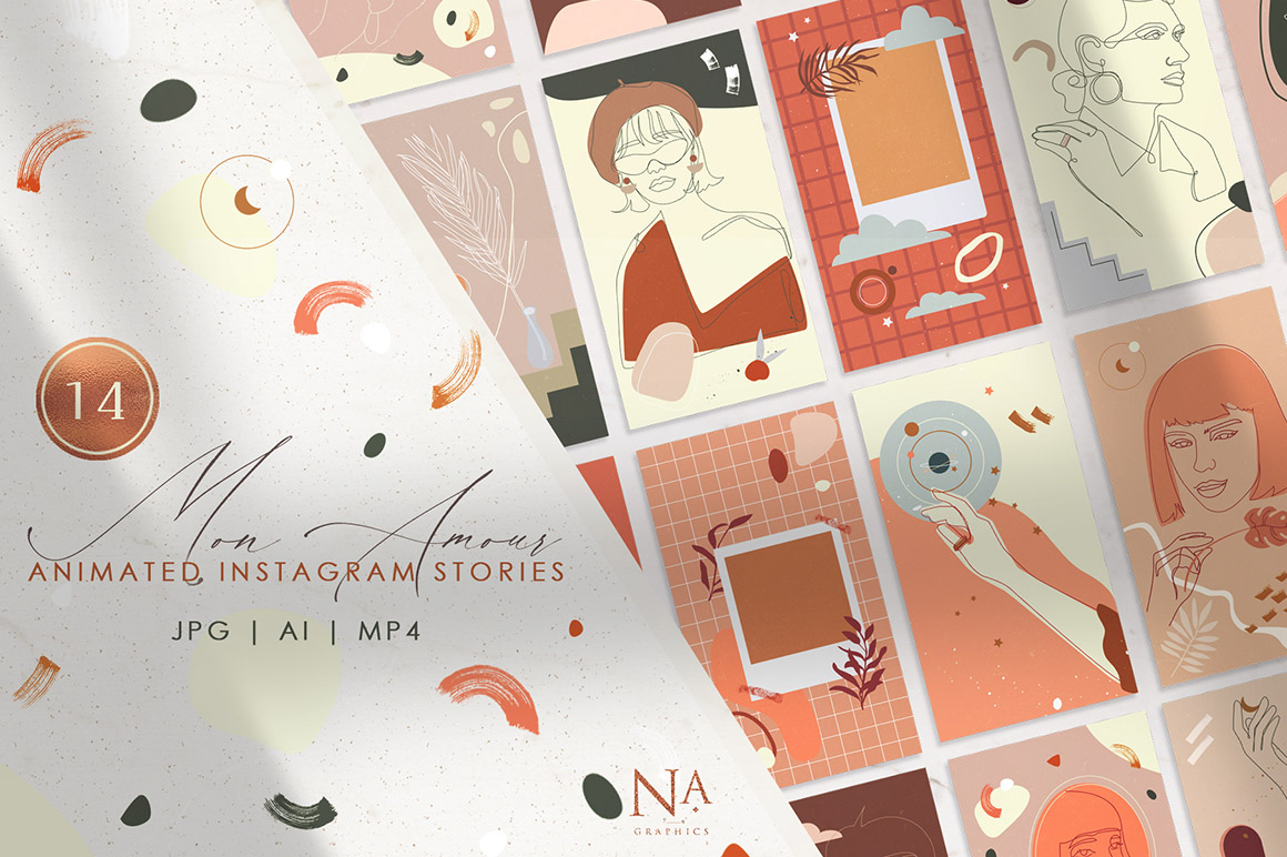 14 Mon Amour Animated Stories