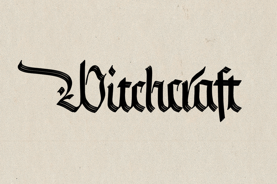 Blackletter Brushes for Procreate v2
