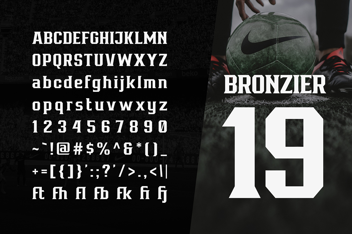 Bronzier Font Family