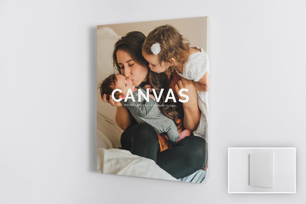 Canvas Mockups Bundle
