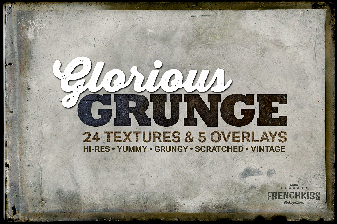 Glorious Grunge Texture Collection