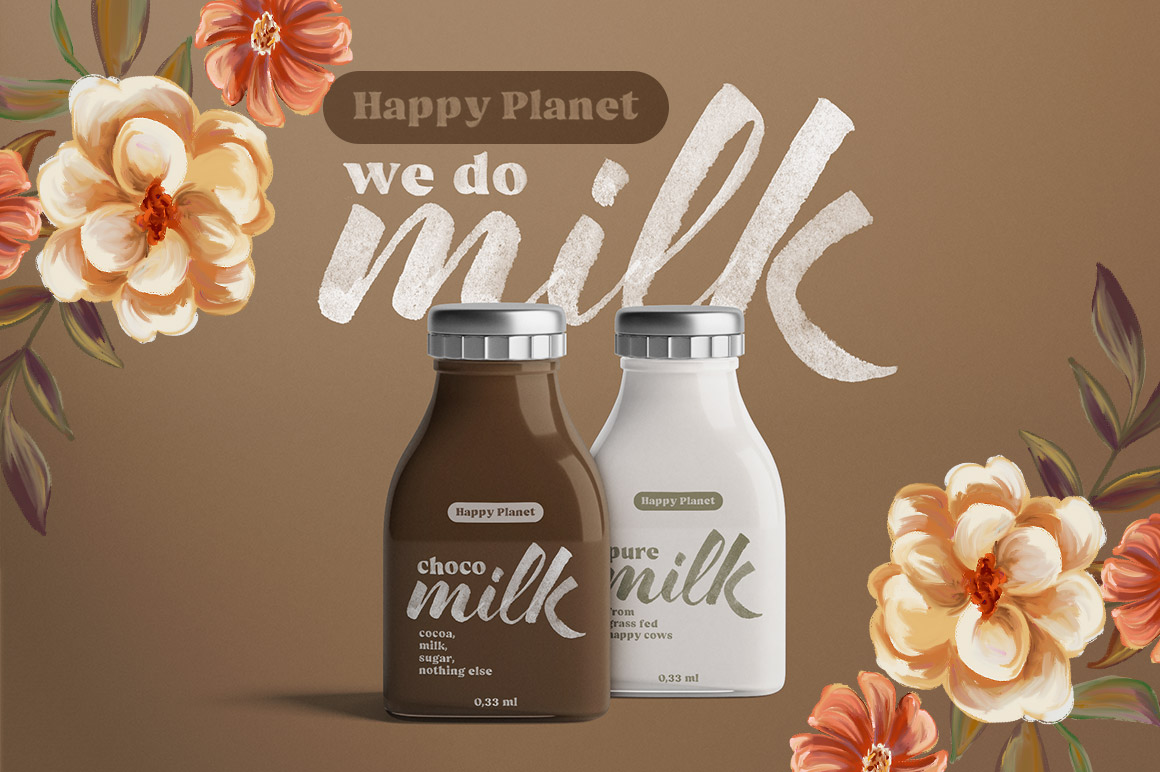 Hello Bloomie - SVG Font Family