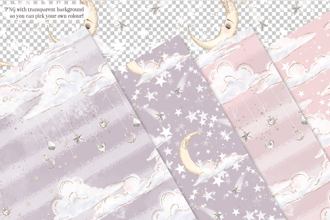 Little Angels Seamless Patterns