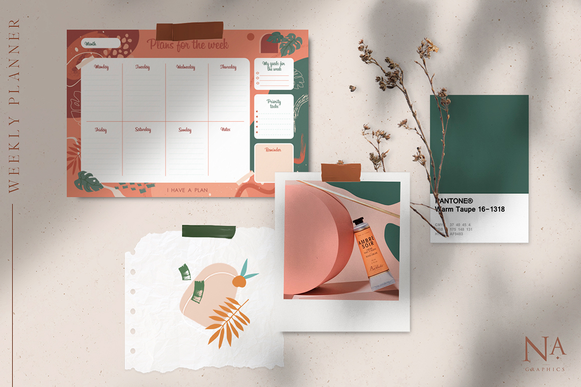 Modernisitc Weekly Planner