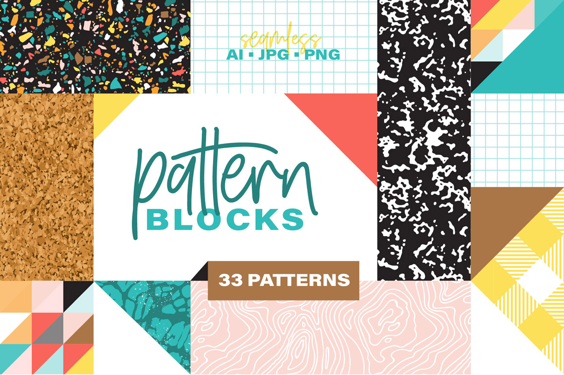Pattern Blocks - Modern Geometrics
