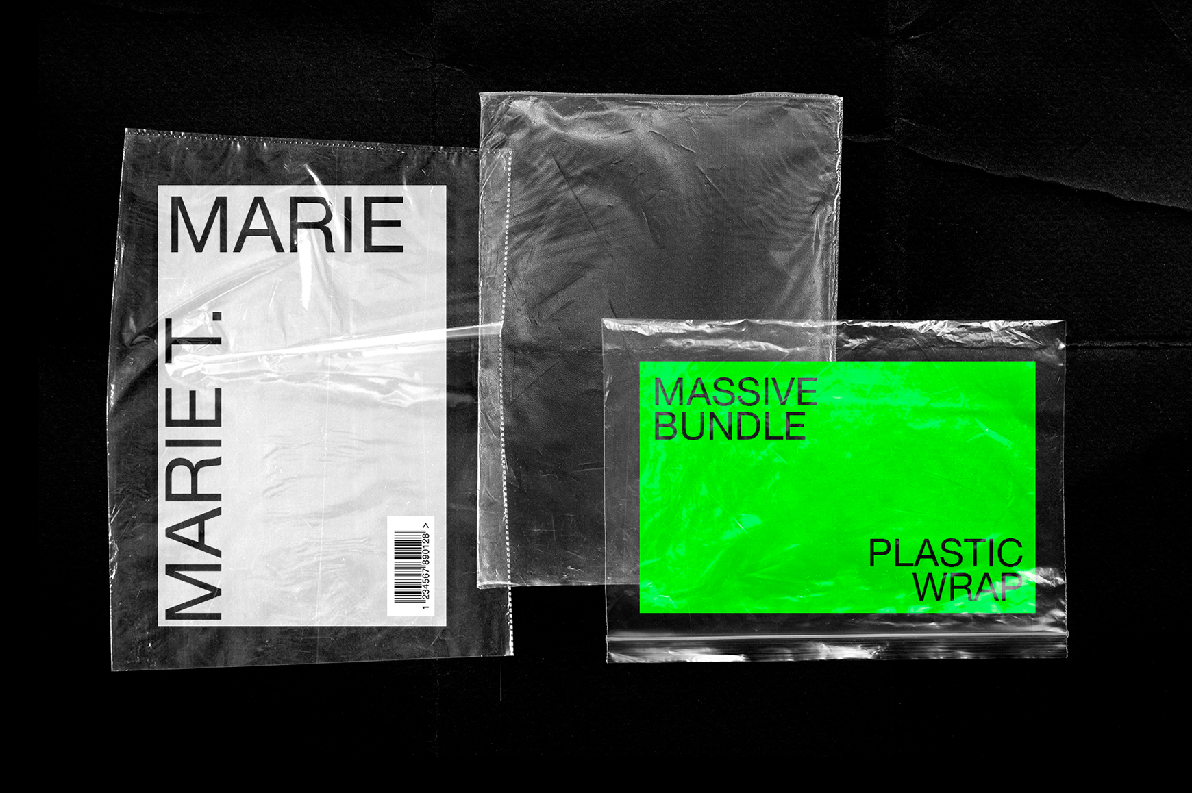 Plastic and Torn Paper Collection
