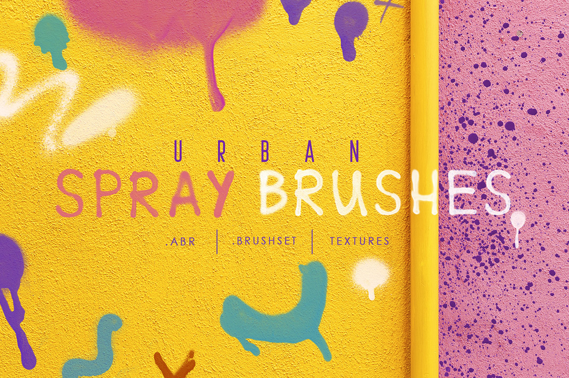 Procreate & Ph Urban Spray Brushes