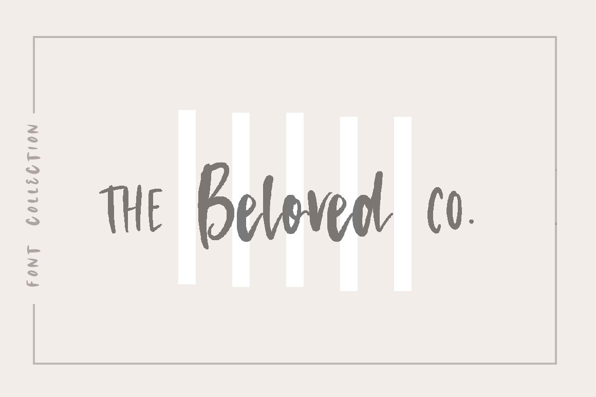 The Beloved Co. Font