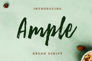 Ample Brush Script