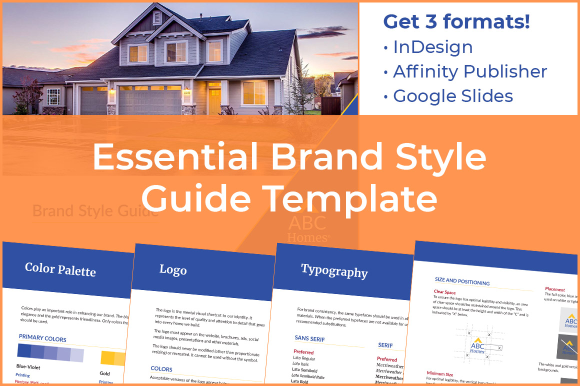 Brand Style Guide Template - Essentials Version
