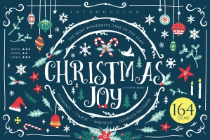 Christmas Joy Xmas Graphics & Cards