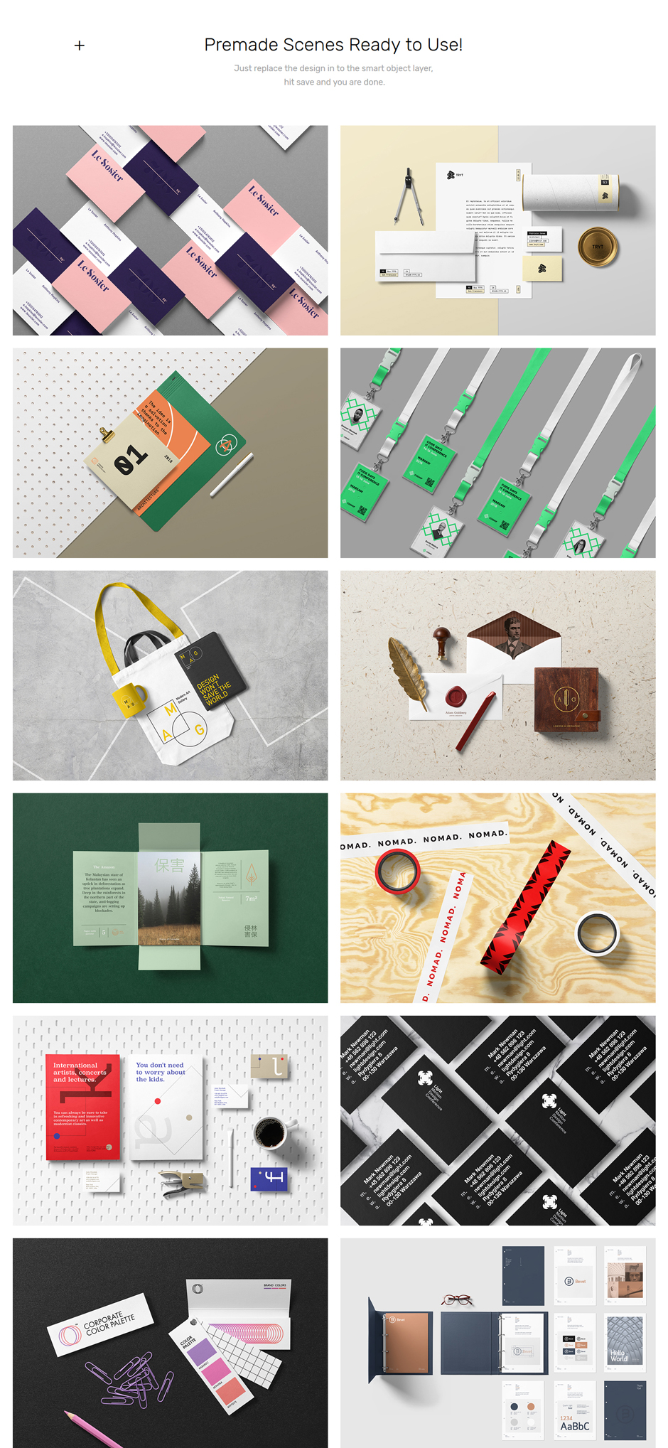 Corporate Stationary Mockup Pack