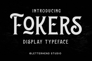 Fokers - Display Typeface