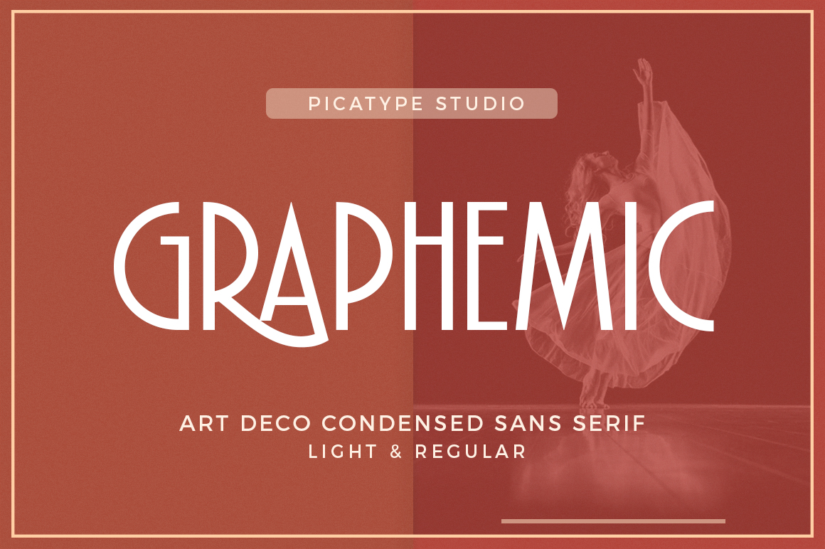 Graphemic Deco Condensed Sans