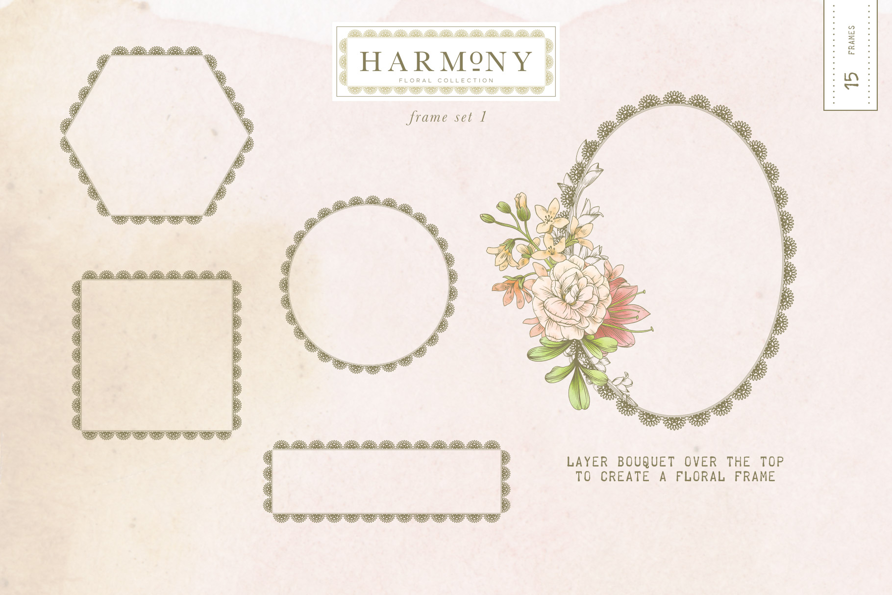 Harmony Floral Collection